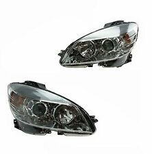 Mercedes W204 C300 C350 Pair Set of Left & Right Headlight Assembly Halogen OEM