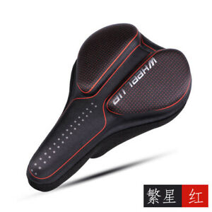 MTB Road Mountain Bike Saddle Bicycle Comfort Gel Pad Sports Soft Cushion Seat