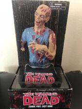 The Walking Dead Zombie Vinyl Bust Bank Diamond Select-IN BOX