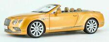Paragon 98232 Bentley Continental GT Conv '16 RHD Gold 1/18