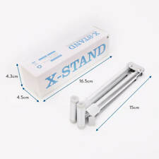 X Stand Adjustable Aluminium Notebook Holder Cooling Stand For MacBook PC Laptop