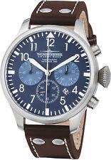Thunderbirds Chronograph blaues Zifferblatt Fliegeruhr TOP UVP 139 EUR Sonderpr.
