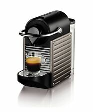 Krups Nespresso Pixie XN3005 Coffee Machine - Electric Titan EU Power Plug