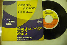 "GINO MESCOLI"" AMOR AMOR CHA CHA-disco 45 giri PHONOLOR It 1961"" NUOVO"