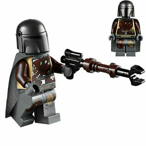 LEGO Star Wars Minifigure Mandalorian & Weapon 75254 **New**
