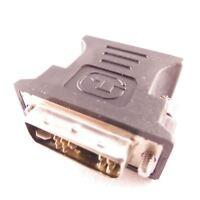 DVI à VGA Adaptateur Numérique à Analogique Dvi-I Pc TFT Beamer Prise Jack 12 +