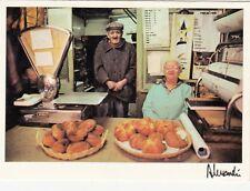Carte postale CAMPAGNE vieux métiers boulanger photo ALESSANDRI