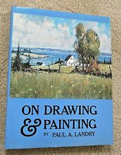 ART INSTRUCTION On Painting and Drawing HARDBACK/DJ Paul Landry for beginners