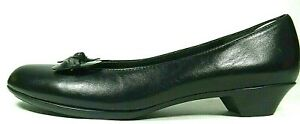 Munro Womens Shoes Flats Loafers Black Leather Casual Comfort Dress U.S.A. 9.5M