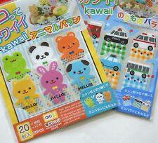 Cute animal vehicle japanese bento food decoration divider sheet pick 1 set
