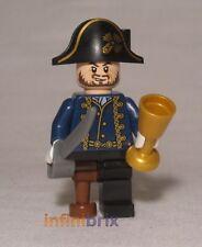 LEGO Hector Barbossa con Pegleg da Set 4192 fonte della giovinezza Pirati poc028