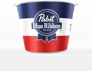 Pabst Blue Ribbon PBR Metal Beer Bucket