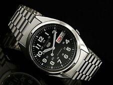 Seiko 5 Reloj Automático para Hombre 21 joyas ver a través de la parte posterior SNX809K vendedor del Reino Unido