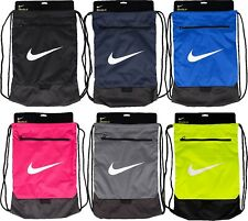 Nike Shoe Bag Sack Brasilia Football Training Unisex PE Sport Men's School Gym