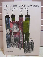 The Tower Of London Department of the Environment Official Guide 1977 With Map