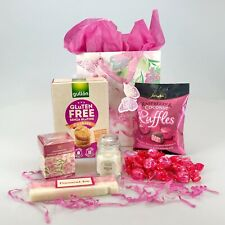 Deluxe Gift Bag Hamper Chocolate Candle Tea Sweet Gluten Free & Vegan Well Xmas