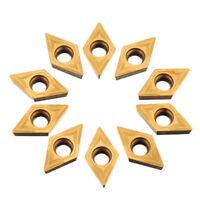 INSERTI TORNIO 10pcs DCMT070204 Carbide Inserts DCMT0702 Carbide Cutter Turning