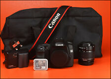 Canon EOS 50D DSLR Camera + 18-55mm Zoom Lens kit With Battery, & Charger & Bag