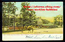 LMH Postcard UBE Undivided Back  HOLY MOSES CAMEL BOAT HOUSE Roger Williams Park