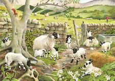 La casa di Puzzle Puzzle 1000 PEZZI-Hide & Seek Collie Cane e pecore