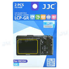 JJC 2pcs LCD Guard Camera Screen Protector Display Film for RICOH GR GR II