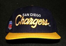 1990s SAN DIEGO CHARGERS SPORTS SPECIALTIES 100% WOOL FITTED NFL CAP SIZE 6 5/8
