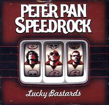PETER PAN SPEEDROCK Lucky Bastards CD GERMANY IMPORT PROMO PUNK HARD ROCK