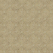 York Brandywine Medallion Harlequin Wallpaper in Metallic Gold & Beige   GL4646