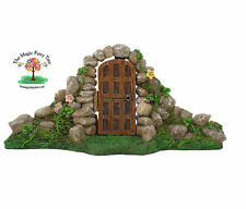 Fairy Garden Door with stone arch - opening gate