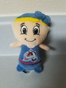 NHL Forever Collectibles Avalanche Plush Girl