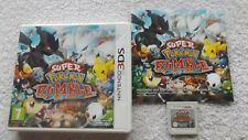 SUPER POKEMON RUMBLE NINTENDO 3DS RPG V.G.C. FAST POST COMPLETE