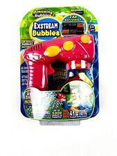 Amazing Bubbles Exstream Bubble Gun Kids Outdoor Toy. New, Pink