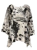 Lior Paris One Size Kimono Poncho Tunic