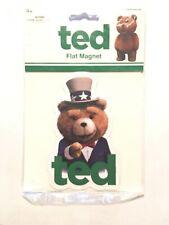 Uncle Sam Ted Movie Flat Magnet Man Cave Locker Refrigerator Sealed Novelty New