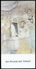 """santino-holy card""""S.RICCARDO PAMPURI"""