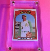1972 Topps #41 Tommy Davis As NrMt NM