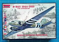 1/144 Douglas C-47 Skytrain (Dakota Mk.III) D-Day 1944-2019 (Roden 300)