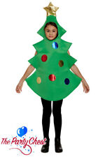 CHILD CHRISTMAS TREE COSTUME Fun Festive School Play Fancy Dress Outfit 88033