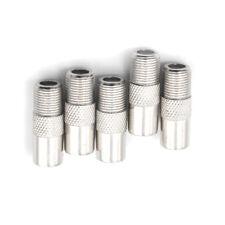 5Unids F Tipo Hembra A Antena de Coaxial Conector macho Adaptador de ench K&Y