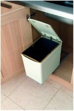 Pull-Out Waste Bin, 16 Litre, Plastic 280gy