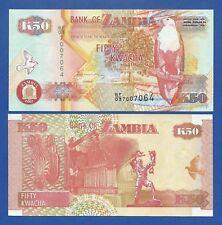 ZAMBIA -- 50 KWACHA ( 2007 ) -- UNC -- PICK 37f .