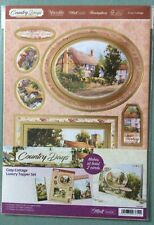 "HUNKYDORY  COUNTRY DAYS LUXURY TOPPER SET - "" Cosy Cottage """