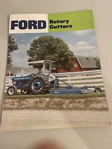 Ford Rotary Cutter 902 906 908 909 910 Fold Out Brochure Advertising Literature