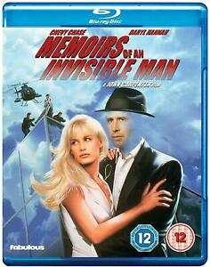 Memoirs Of An Invisible Man BLU RAY (Chevy Chase,)  Region B New & Sealed