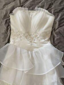 Wedding Dress Size 6 - Size 8 New