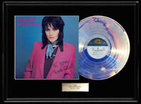 JOAN JETT ROCK N' ROLL WHITE GOLD SILVER  PLATINUM TONE RECORD LP ALBUM RARE