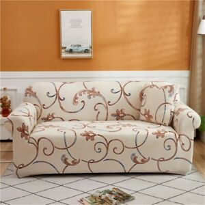 Floral Printed Slipcovers Stretch Sofa Covers Sofa Towel Home Decor 1/2/3/4-seat