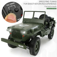 JJR/C Q65 1/10 2.4G 4WD RC Off-road Military Truck Transporter 6 RTR Z2X3