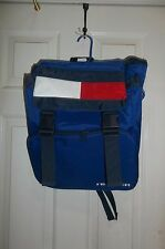 Vintage Rare TOMMY HILFIGER Big Flag Logo Backpack In Great Condition!
