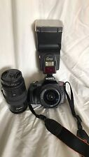 Sony A330  DSLR Camera -  (Kit w/ 18-55mm, 75-300mm, & External flash)